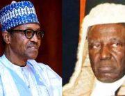 President Buhari Mourns Former CJN Kutigi