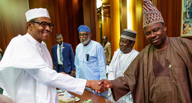 Amosun Insists Relationship With Buhari Remains Strong
