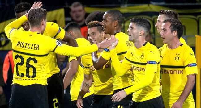 Dortmund Thrash Atletico Madrid 4-0