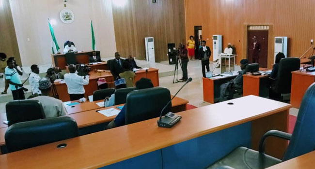 ICYMI: Ekiti Assembly Chief Whip Defects From PDP To APC