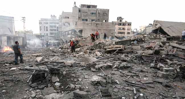 Israel Accuses Syria, Iran Of Orchestrating Gaza Rocket Fire