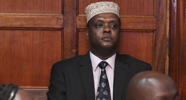 Kenya's Ex-Sports Minister Wario Charged Over Olympic Corruption