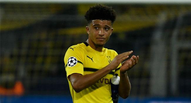 Dortmund Teenager Sancho Gets England Squad Call