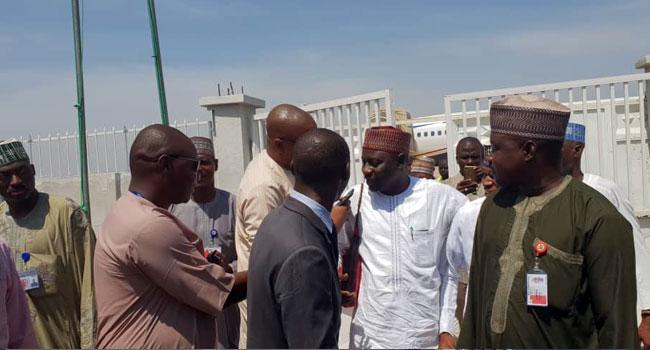 Jafar Jafar Arrives In Kano To Meet Lawmakers Over Bribery Allegation Against Ganduje