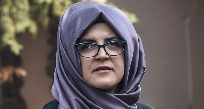 Khashoggi's Fiancee Says US 'Ethically' Responsible To Seek Justice