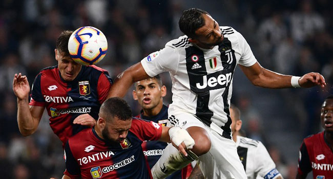 Juventus Held By Genoa To End Perfect Start