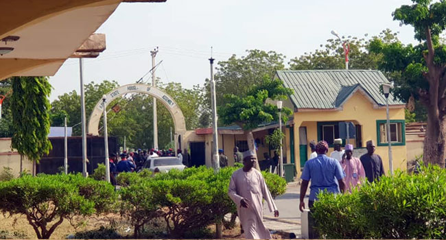 Tight Security At Kano Assembly As Lawmakers Probe Bribery Allegation Against Ganduje