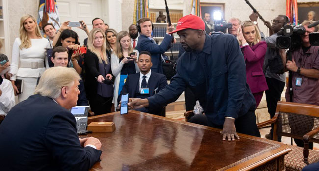 Amid Criticism, Kanye West Shows Love For Trump