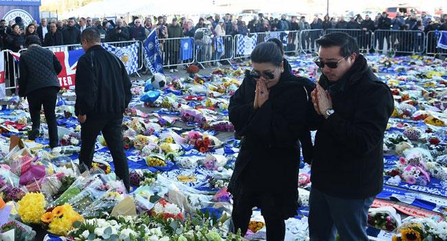 Thai Billionaire's Family Visit Leicester Crash Site