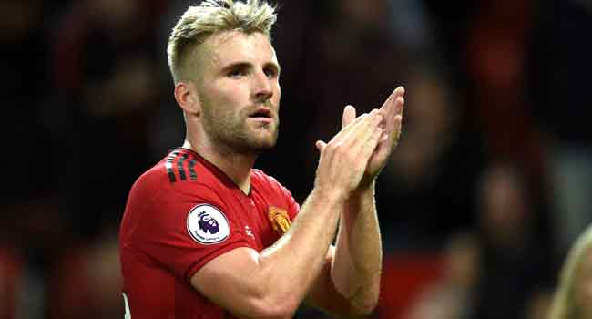 Man United Frustrated By Top Four Finish, Says Shaw