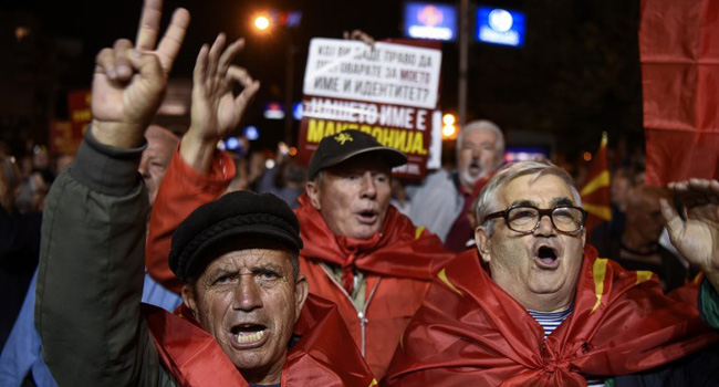 US Hails Outcome Of Macedonia's Name Change Referendum