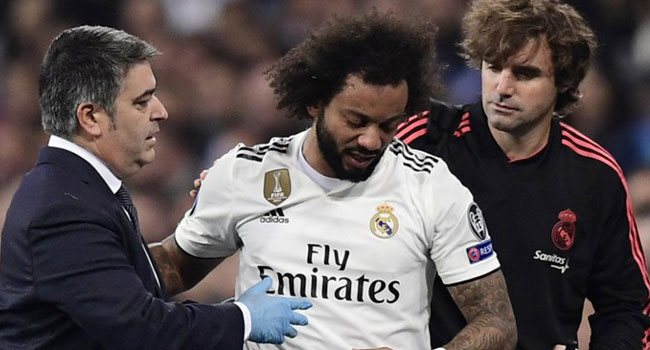 Real Madrid's Marcelo Set To Miss Rest Of League Season Due To Injury