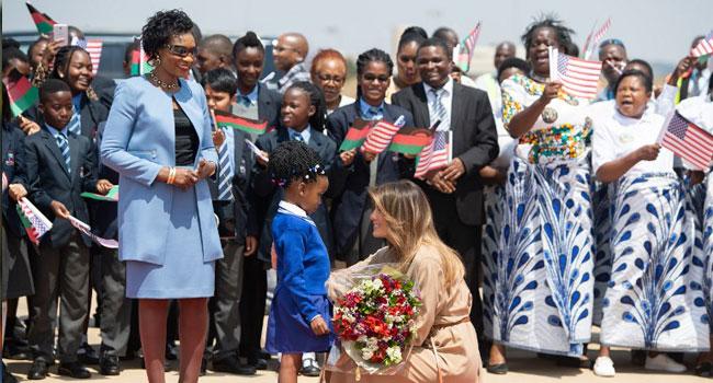 Melania Trump Visits Malawi School On Solo Africa Tour