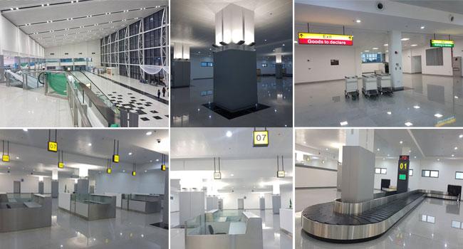 Photos: Port Harcourt International Airport's New Terminal