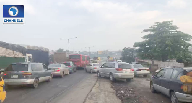 Motorists Relieved As LASTMA Officials Clear Fallen Truck On Otedola Bridge