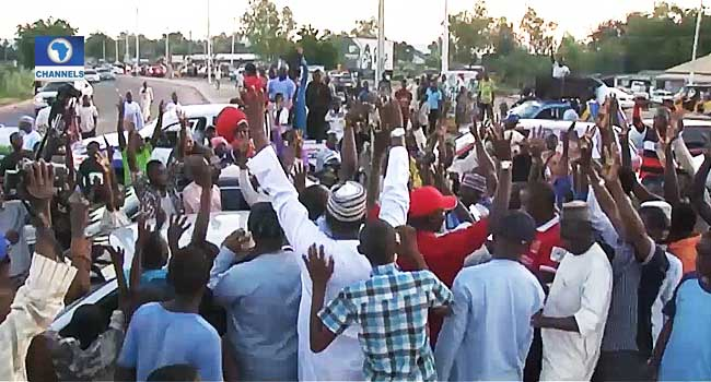 Adamawa APC Members Protest Alleged Imposition Of NASS Candidate