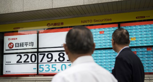 Stock Markets Tumble As Geopolitical Fears Set In