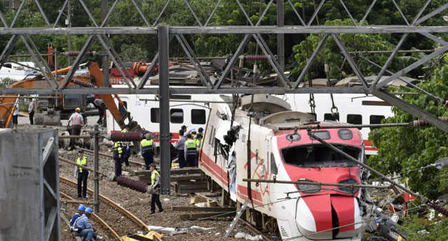 Taiwan Begins Probe Into Train Disaster