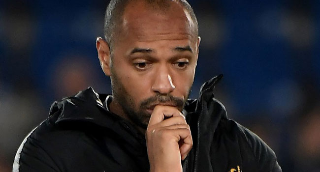 Henry Suffers Defeat In First Match As Monaco Coach