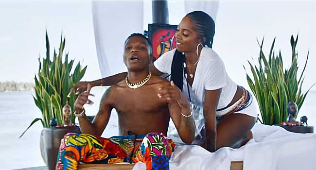 Wizkid, Tiwa Savage Give Fans 'Fever' In New Video