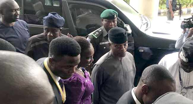 Osinbajo Asks Nigerians To Monitor Nation's Resources