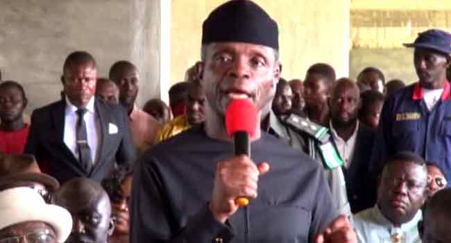 Osinbajo Visits Areas Affected By Floods In Rivers, Bayelsa