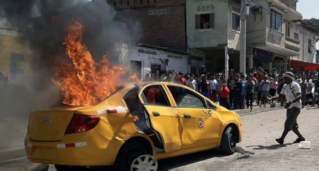 Mob Kills Three Suspected Of Stealing Children In Ecuador