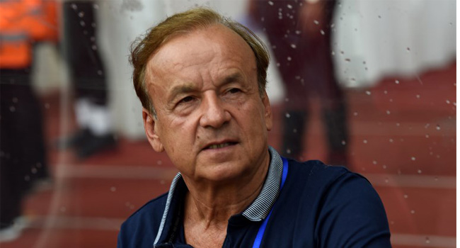 2019 AFCON Qualifiers: Rohr Hints At Squad Rotation Ahead Of Seychelles Game
