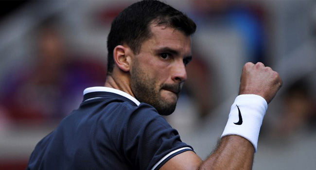 Dimitrov Double-Faults His Way Out Of China Open