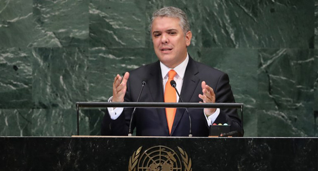 Colombian President Tightens Anti-Drug Laws