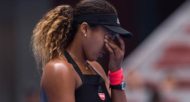 Tearful Osaka Survives Huge Scare To Reach Beijing Semis