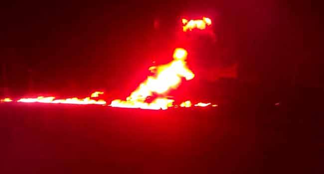 Fuel Tanker Explodes In Akure