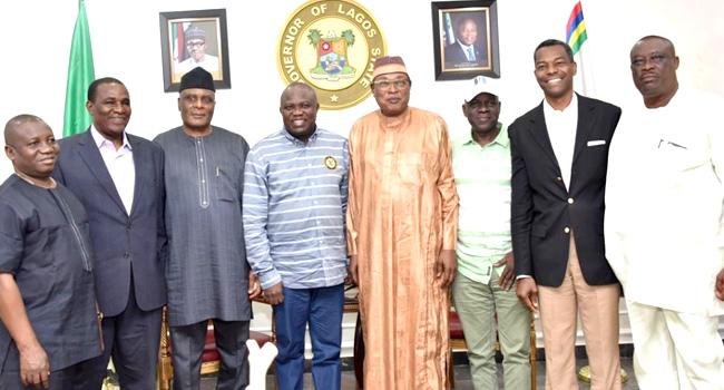 APC NWC Members Visit Ambode Ahead Of Lagos Primaries