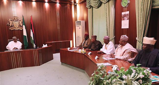 Buhari Meets With APC Governors, Again