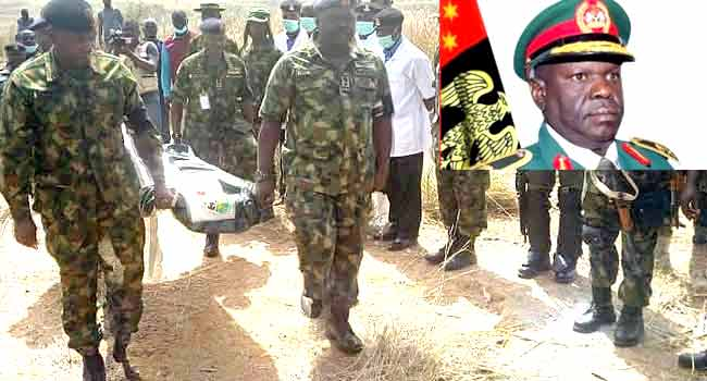 Body Of Missing Army General Alkali Found