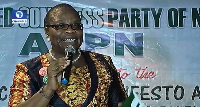 2019: Ezekwesili Picks ACPN National Chairman As Running Mate