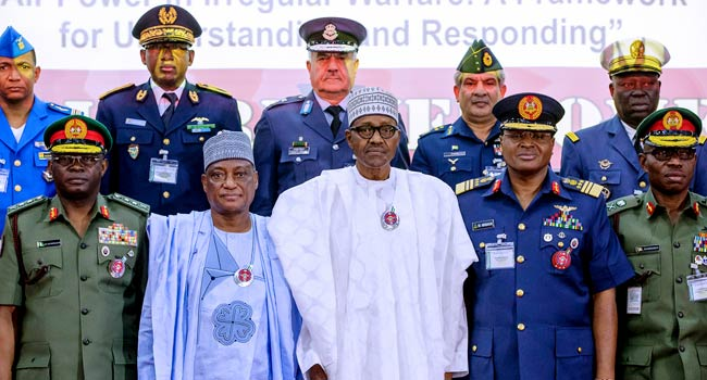 Buhari Promises Improved Funding For Armed Forces
