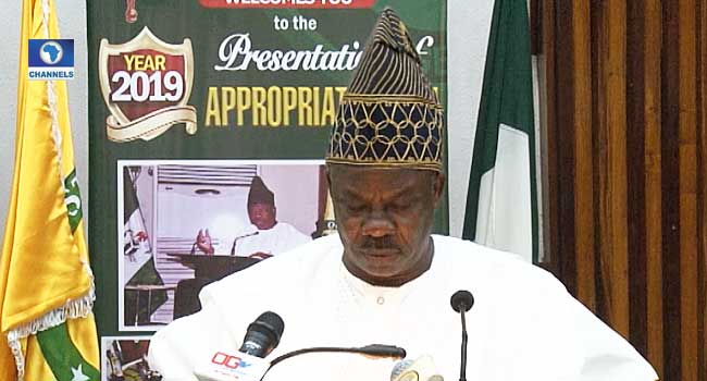 Ogun Govt Presents N402bn 2019 Budget Proposal To State Assembly