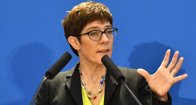 Favoured Merkel Successor Vows To Pursue Chancellor's Path