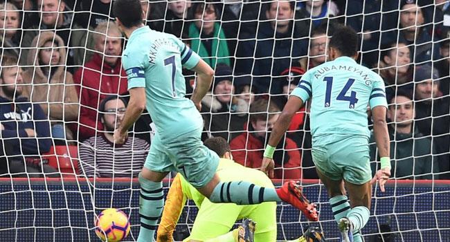 Aubameyang Winner Extends Arsenal's Unbeaten Run