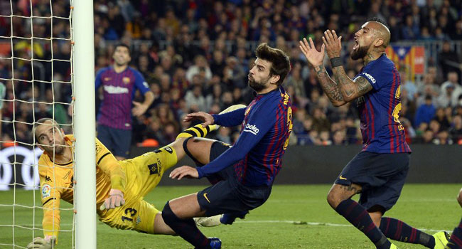 Barca Suffer Shock Defeat To Betis