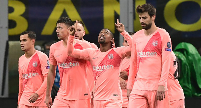 Barcelona Reach Champions League Last 16 After Inter Draw