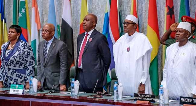 President Buhari Attends Conference Of African Parliamentary Union