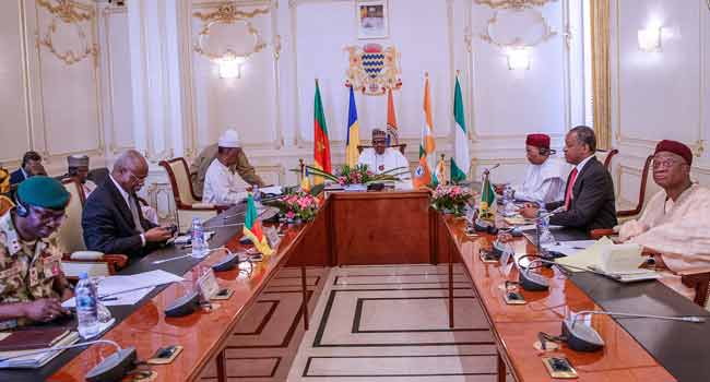 Let's Renew Our Collective Effort Against Terrorism, Buhari Challenges LCBC Leaders