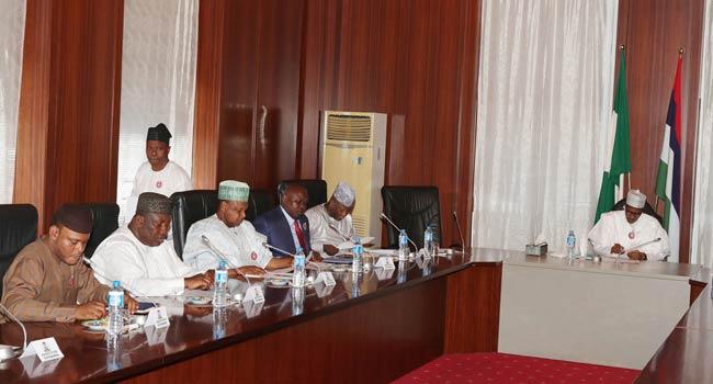 Minimum Wage: Governors Keep Mum After Meeting With Buhari