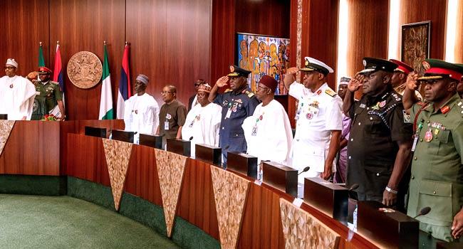 Buhari Cancels FEC Meeting, Meets Members Of NIPSS Course 40
