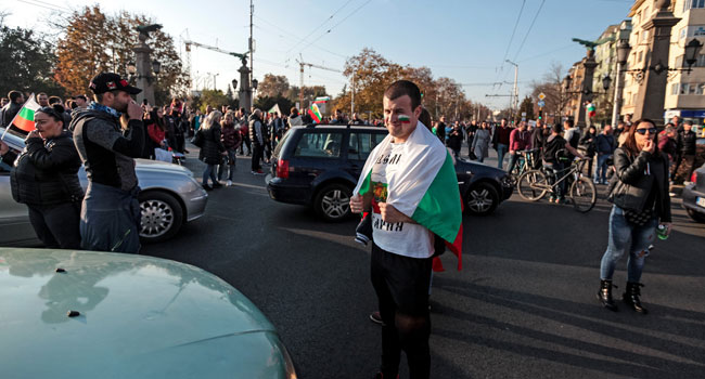 Clashes As Thousands Protest Petrol Price Hikes In Bulgaria