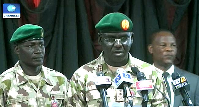 'How We Spent Funds For Military Operations', Buratai Replies SERAP, EiE, BudgIT