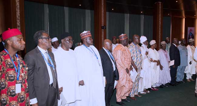 PHOTOS: Buhari Inaugurates CCB Chairman, NPC Members