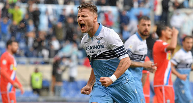 Lazio Remain Third In Serie A After Sassuolo Victory